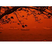 Storm of Dust - Bolton Point Photographic Print