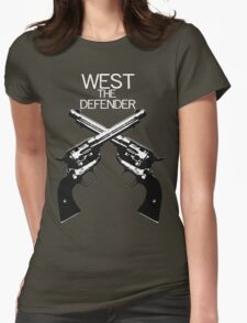 Guns Womens Fitted T-Shirt