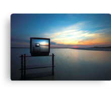 Reality TV Canvas Print