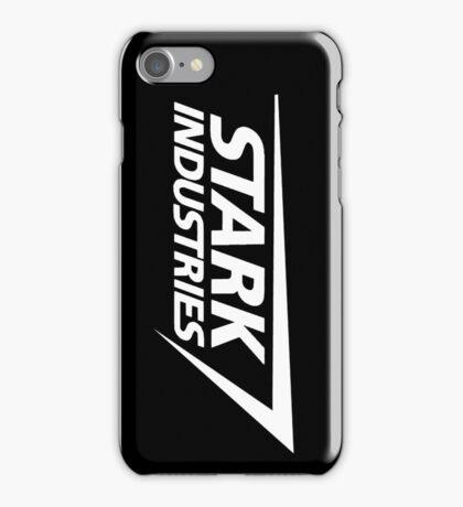Stark Industries-White iPhone Case/Skin