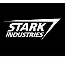 Stark Industries-White Photographic Print