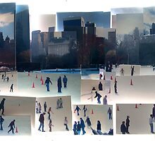 Wollman Rink, Central Park, New York by Simon Yeomans