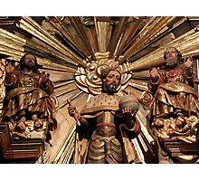 Patron with God (Father and Son), San Fernando Photographic Print