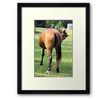 THINKING OF YOU Framed Print