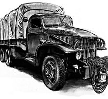 World War 2 Army Truck by olivercook
