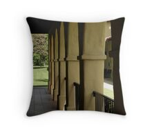 Colonnade, San Fernando Throw Pillow