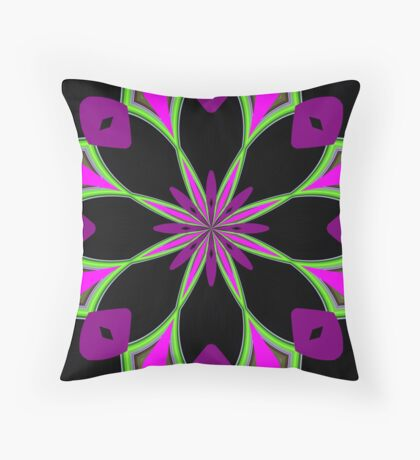Shapes in Colours Throw Pillow