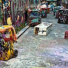 Hosier Lane Melbourne VIC Australia   by Lee Duguid