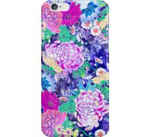 Oriental flowers iPhone Case/Skin