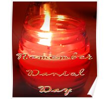A Candle for Daniel Poster