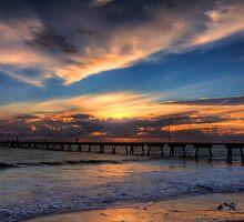 Glenelg Sunset - HDR by Dale Allman