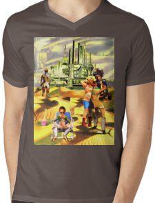 The Future Of Tourism Mens V-Neck T-Shirt