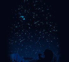 Looking at the stars by Tappina95