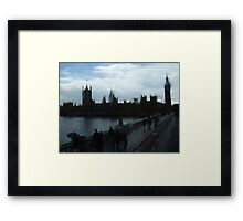 Typical London Framed Print