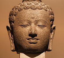 Buddha Head by jean-louis bouzou
