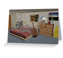 The Student Bedroom Greeting Card