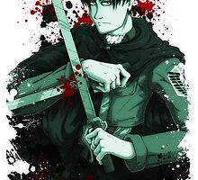 Levi - Attack on Titan by PhaseChan