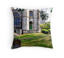 A quiet place to rest. Throw Pillow