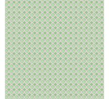 Luxury background with pearls. Silk satin. Pastel, tender green Photographic Print
