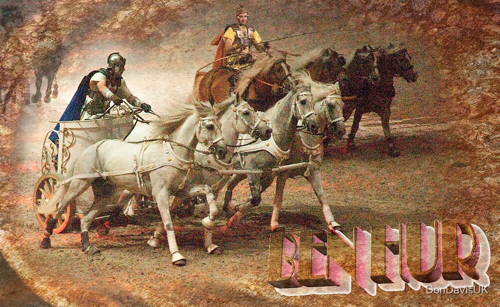 Ben Hur: The Chariot Race @ London's O2 Arena, UK by DonDavisUK