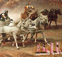 Ben Hur: The Chariot Race @ London's O2 Arena, UK by DonDavisUK