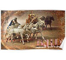 Ben Hur: The Chariot Race @ London's O2 Arena, UK Poster