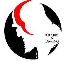 Kratos is coming Photographic Print