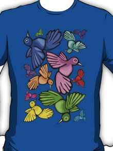 Honey bird rainbow. T-Shirt