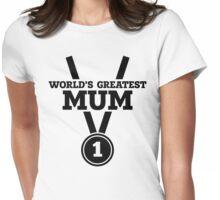World's Greatest Mum Womens Fitted T-Shirt