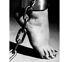Woman Barefoot Photographic Print