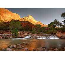 Morning Has Broken At Zion © Photographic Print