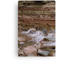 Red Hill Layers Canvas Print
