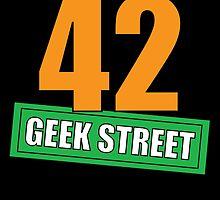 42 Geek Street Design 2 by mickytoons