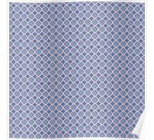 Luxury background with pearls. Silk satin. Pastel, blue - gray. Poster