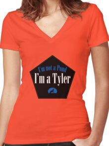 I'm a Tyler Women's Fitted V-Neck T-Shirt