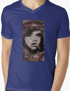 Rock Chick Mens V-Neck T-Shirt