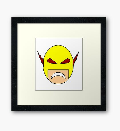 Reverse Flash / Professor Zoom Egghead Framed Print