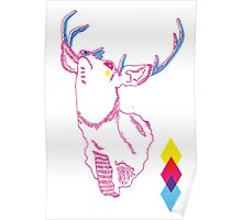 Huge Antlered surprise Poster