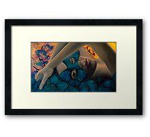 Whisper of Papillon Framed Print