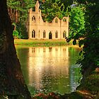 The Restored Abbey Ruins Painshill Park - HDR by Colin J Williams Photography