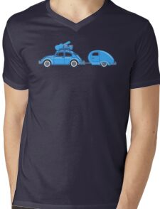 Recreation Leave Mens V-Neck T-Shirt