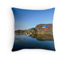 The Coastline Throw Pillow