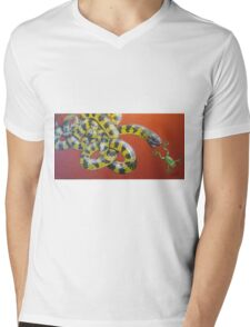 The great escape-painting Mens V-Neck T-Shirt