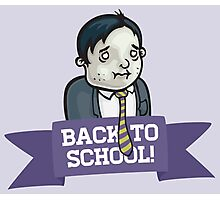 Back To School! Photographic Print