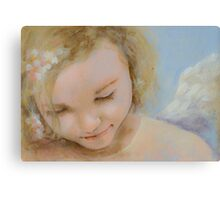 Caring Angel Canvas Print