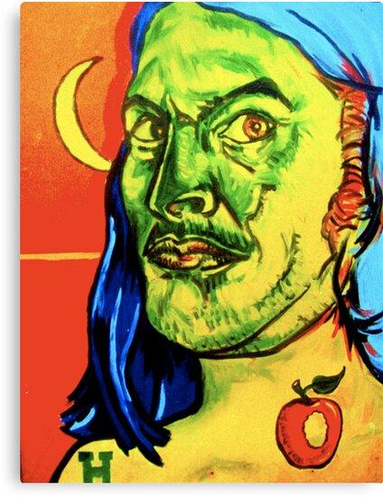 Sardonic Self Portrait  by bhutch7