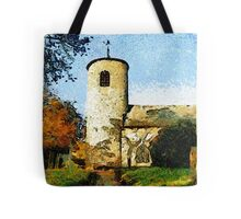 St Mary's Church, Syderstone, Norfolk Tote Bag