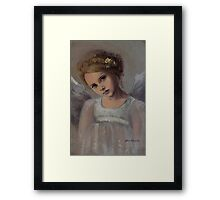 Reading Into Your Soul Framed Print
