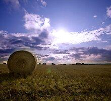 haybales by MissBritt