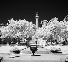 Baltimore's Washington Monument by Bowman1